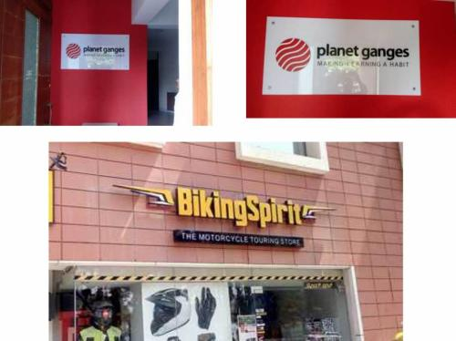PVC Embosed letters wtih Acrylic sheet signage Embosed letter with MS frame signage