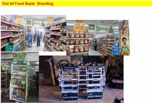 Retail Merchadising rack fabricaitons